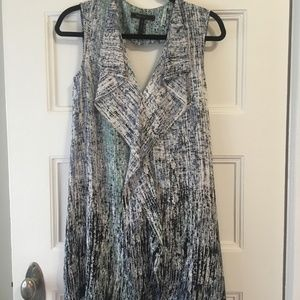BCBG Jena Dress Slate Print